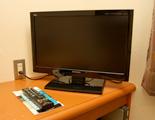 テレビ、テーブル、デスク